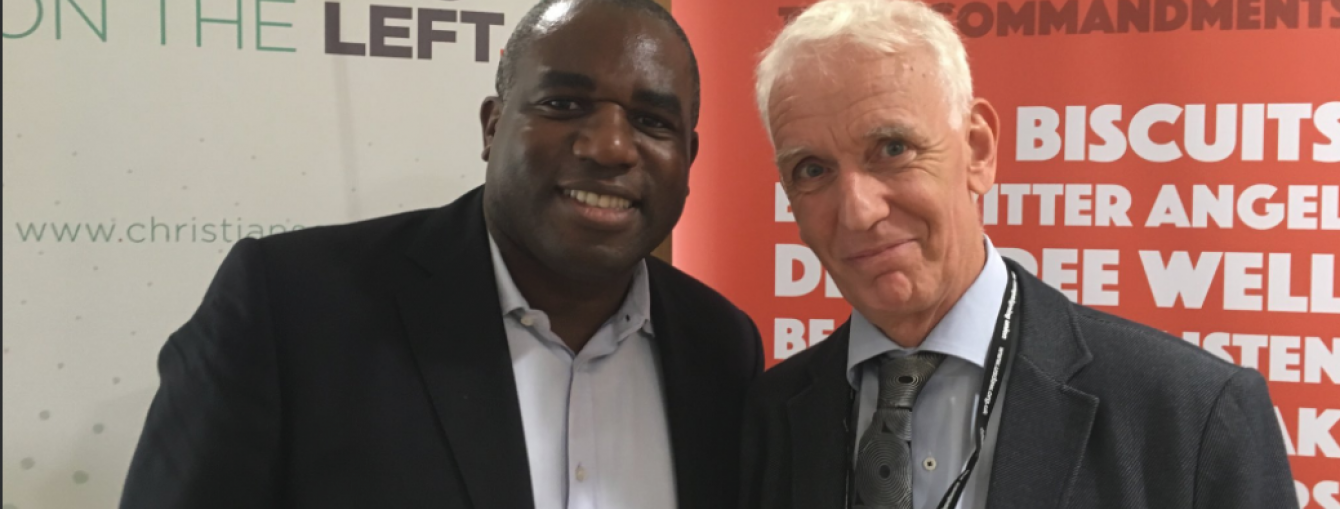 Steve and David Lammy