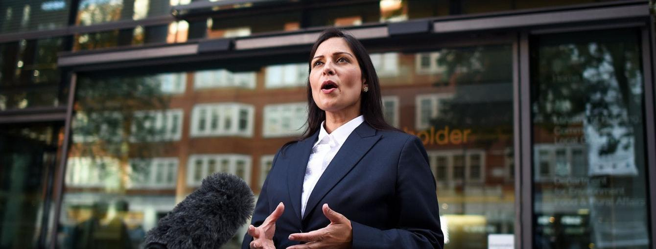 Priti Patel MP - Home Secretary