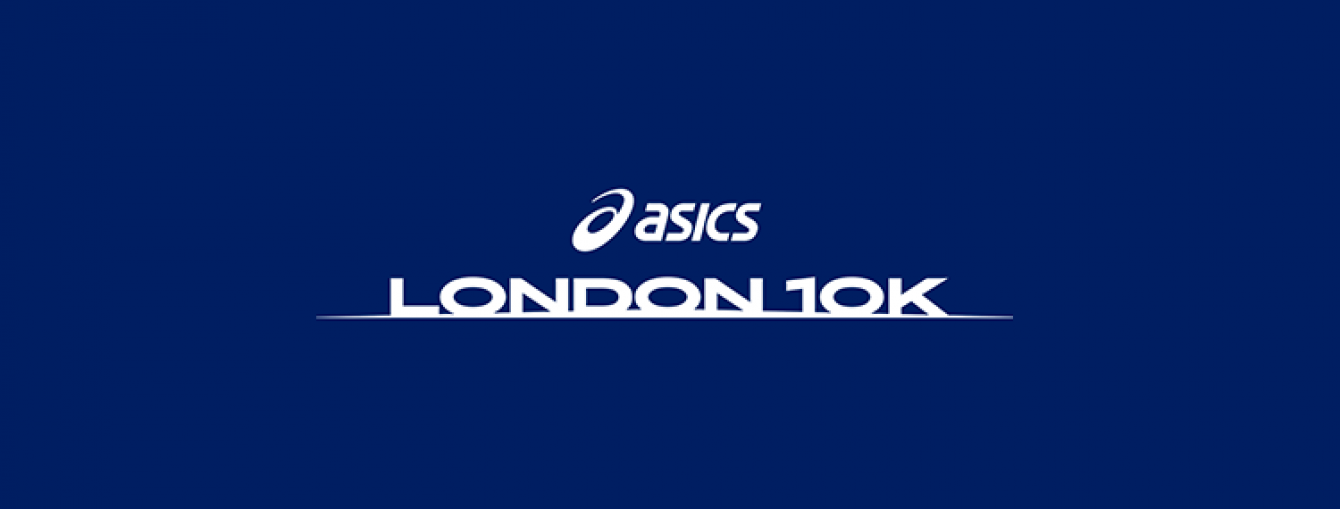 Asics London 10km 2020 Logo
