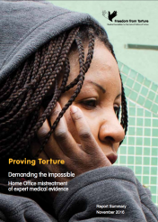 Proving torture, demanding the impossible: Home Office mistreatment of medical evidence (summary version, English, Nov 2016)