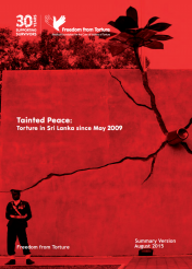 Tainted peace - torture in Sri Lanka since May 2009 English Summary (Aug 2015)