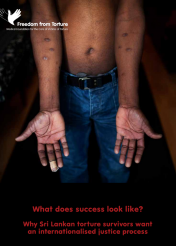 What does success look like - why Sri Lankan torture survivors want an internationalised justice process (February 2016)