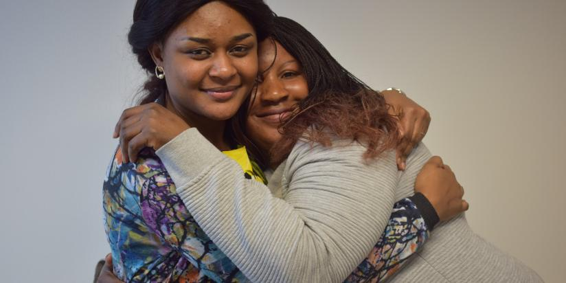 Two women who have been supported by Freedom from Torture