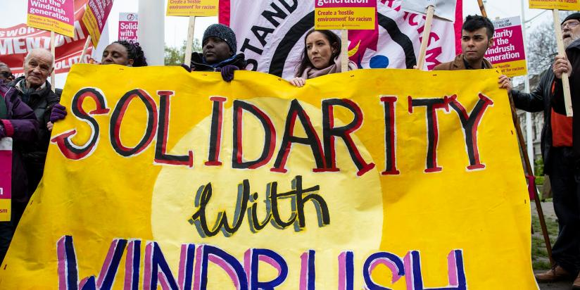 Solidarity with windrush