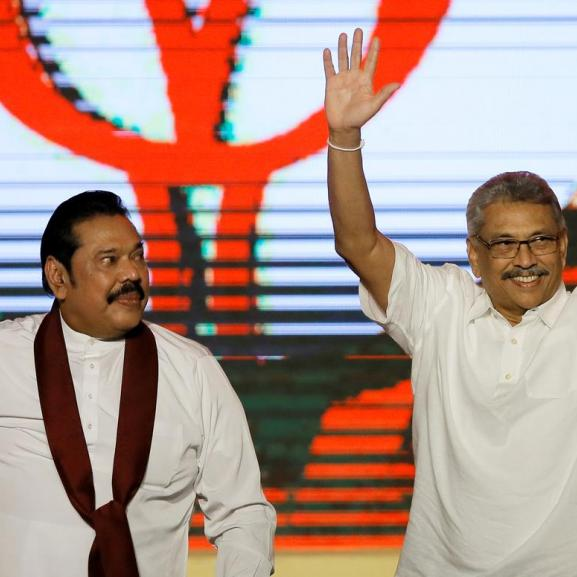 Gotabaya and Mahinda Rakapaksa